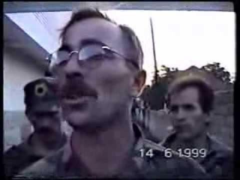 UQK 1999 - Hyrja e UÇK ne Ferizaj 14.06.1999 Nje fjalim i Imri Ilazi - i njohur gjat luftes si - komandant ferri.