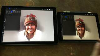 iPad Pro 10.5 Artist Review (vs original iPad Pro 12.9)