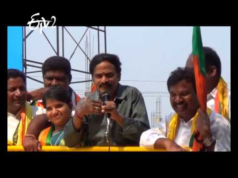 Comedian Venu Madhav Continues His Attractive Speech In His Election Campaigning