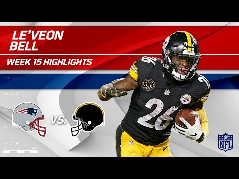 Video: Le'Veon Bell Highlights | Patriots vs. Steelers | NFL Wk 15 Player Highlights