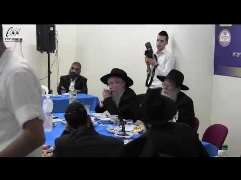 הרב יעקב רייניץ במרכז ממש