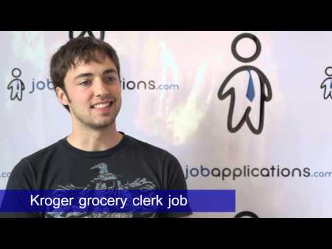 Kroger Interview - Grocery Clerk