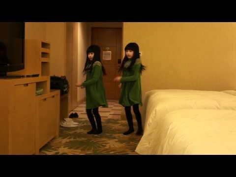 可愛雙胞胎Sandy&Mandy跳新舞蹈miss A