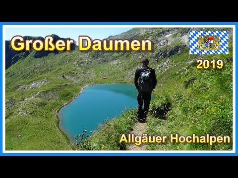 Wanderung auf den Großen Daumen  / Rundweg entlang zweier Bergseen | Allgäuer Hochalpen 2019