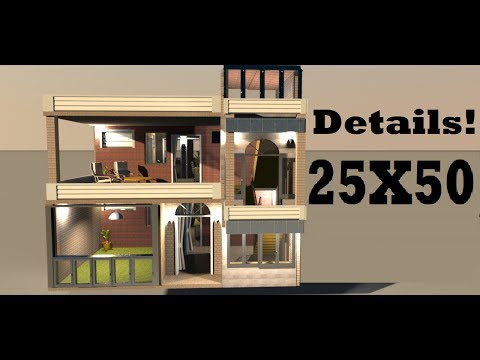 25X50 With Maximum Parking Area Video By Build Your Dream House