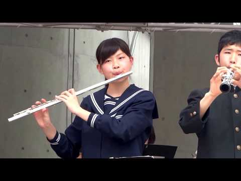 篠原中学校 吹奏楽部「真っ赤な太陽」