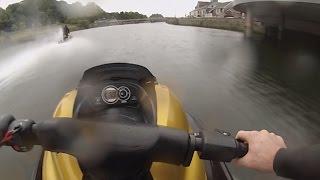 8. Yamaha GP1300R Jetski full speed | GoPro