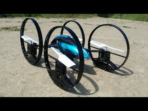 Квадрокоптер jjrc h3 air-ground rc toy
