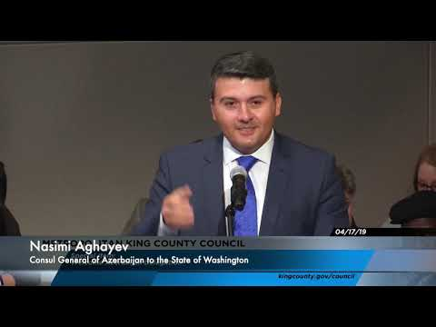Azerbaijan honored at King County Council of Washington