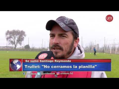 Alumni se refuerza - Se suma Santiago Raymonda