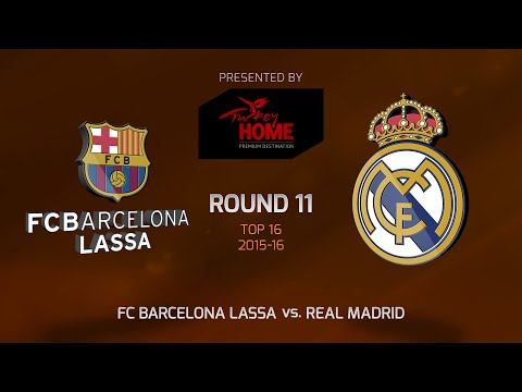 Highlights: Top 16, Round 11, FC Barcelona Lassa 72-65 Real Madrid