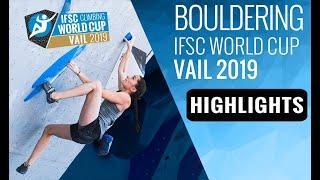 IFSC Climbing World Cup Vail 2019 - Bouldering - Highlights by International Federation of Sport Climbing