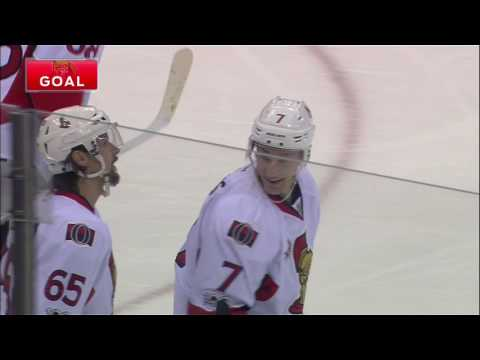 Karlsson springs Turris with home run pass for breakaway goal