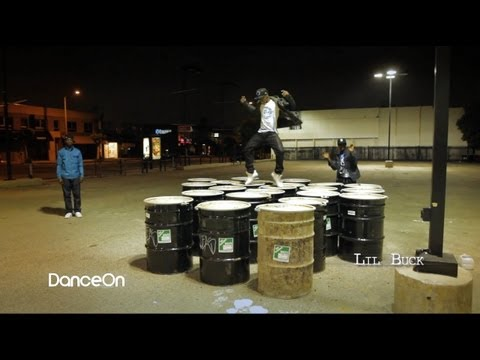 lil buck freestyling - Bboys can have their linoleum mats. Lil Buck, Prime Tyme, and J Styles of New Styles Krew would rather dance on top of barrels! On November 12th, 2011 at the...