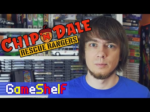 Chip 'n Dale Rescue Rangers - GameShelf #32