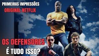 Primeiras Impressões da nova série original da Netflix em parceria com a Marvel 'Os Defensores' Inscreva-se no canal:...