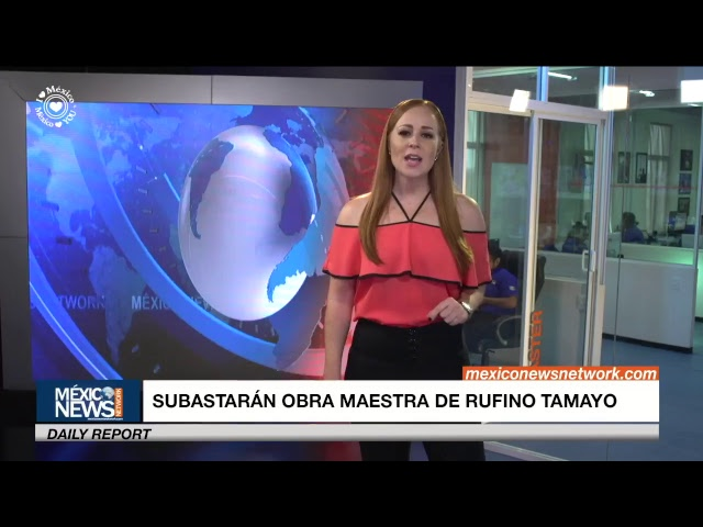 En subasta obra de Rufino Tamayo en NY