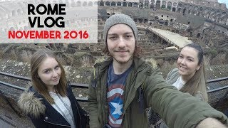 The second of a two-part vlog from my trip to Amsterdam and Rome from November 2016. We travel straight from Amsterdam to the Italian capital, endure a thunderstorm, visit the Colosseum and explore the Vatican.I post lots of travel vlogs like this - subscribe if you like!