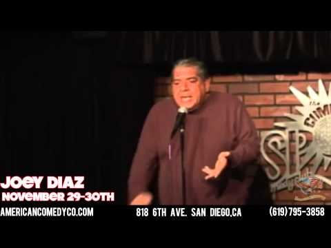 Joey Diaz @ The American Comedy Company