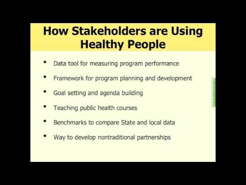 Healthy People 2010 Final Review Webinar (Part 1 of 7)