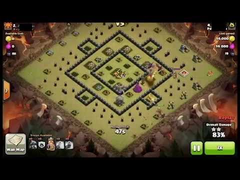 Level 2 Dragon vs Level 6 Air Defense (Maxed Th8) - Clash of Clan:  For Business inquiries contact at: NoobClasher001@gmail.comClash of Clan war attack with Level 2 Dragon against a Maxed Town Hall 8 Base with Level 6 Air Defense.Enjoy the Raid...Intro Music: http://www.ascendents.net/?v=cQO7yJHBqBE&index=1&list=RDcQO7yJHBqBE