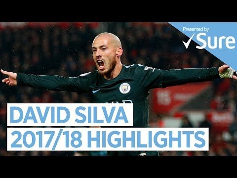 DAVID SILVA | GOALS, SKILLS & MORE... | Best Of 2017/18