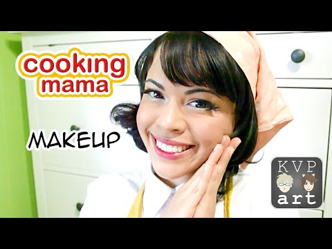Cooking Mama Cosplay Makeup