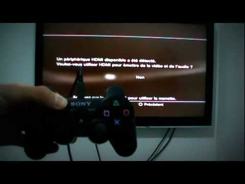 comment regler ps3 en bitstream
