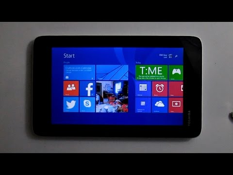 Windows 8.1 – Toshiba Encore Mini 7″ Tablet