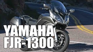 1. Test Ride: 2015 Yamaha FJR1300