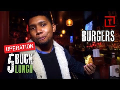 The Best Cheap Burger in NYC's Upper East Side || Operation $5 Lunch