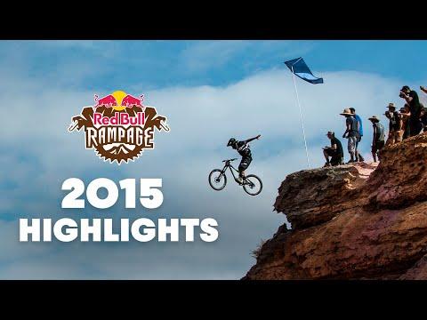 Red Bull Rampage 2015: Top Freeride Mountain Bike Highlights (видео)