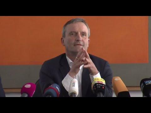 Pressekonferenz zu den Freibad-Tumulten mit Düsseldorfs OB Thomas Geisel