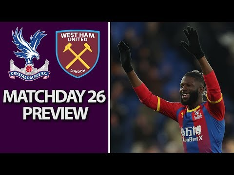 Video: Crystal Palace v. West Ham   PREMIER LEAGUE MATCH PREVIEW   2/9/19   NBC Sports