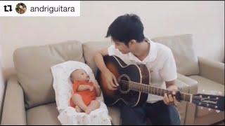 Video Papa Muda Main gitar Dengan Bayi !! #WAJIBTONTON MP3, 3GP, MP4, WEBM, AVI, FLV Agustus 2018