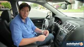 2012 GMC Acadia Denali Test Drive&Luxury Crossover SUV Video Review