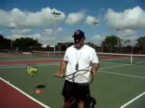 Tennis for Beginners Lesson 2-Footwork, Toss and Hit Drills