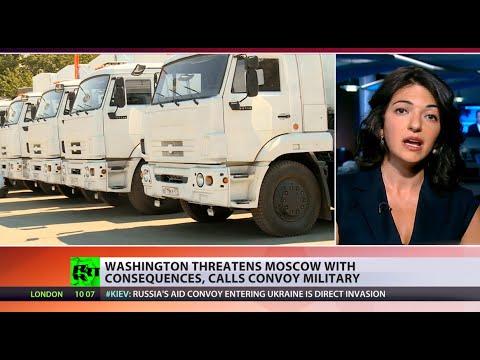 Potato Invasion%3A US says military motive in Russian aid%2C empty trucks return home
