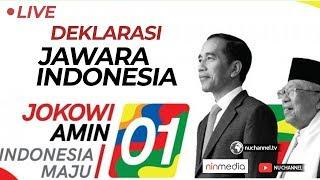(LIVE) Deklarasi Jawara Indonesia Untuk Jokowi - Kiai Ma'ruf