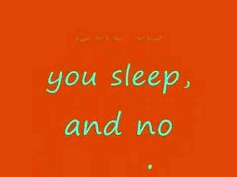 As You Sleep - by Something Corporate