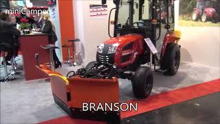 5. The 2018 BRANSON Small Tractors