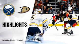 Sabres @ Ducks 10/16/19 Highlights by NHL