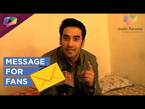 Vishal Vashishth's message for fans