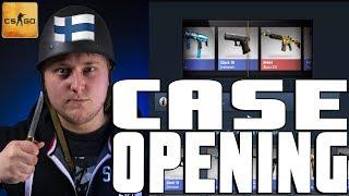 CASE OPENING CSGO Suomi Avataan Caseja, jos saadaan 300 tykkäystä niin pidän puukko giveawayn lähipäivinä! jos pidit...