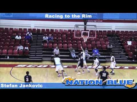 Racing to the Rim - Jankovic highlights from the Racing to the Rim showcase against Second Baptist.