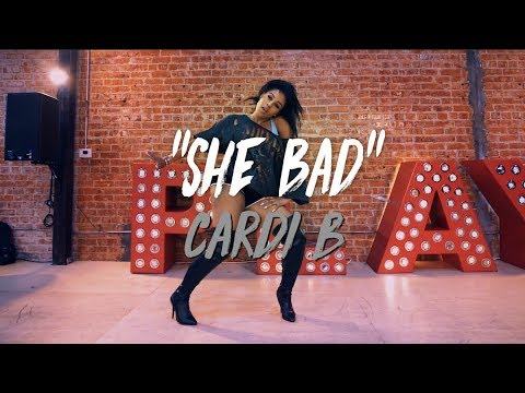 "Cardi B - ""She Bad"" | Nicole Kirkland Choreography"