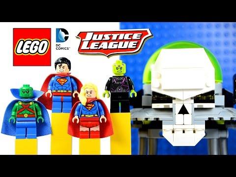 Vidéo LEGO DC Comics Super Heroes 76040 : L'attaque de Brainiac