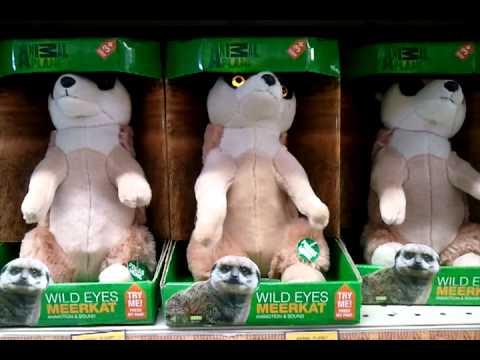 Weird Meerkat Toy