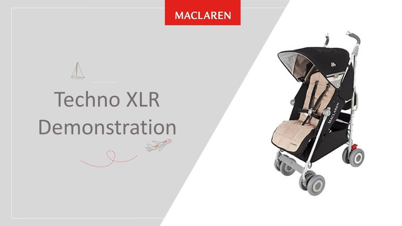 фото Коляска-трость Maclaren Techno XLR (Макларен Техно ИксЭльЭр)