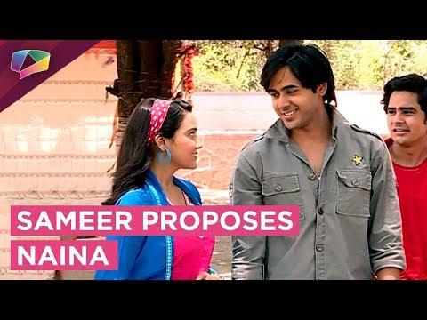 OMG!! Sameer Finally Proposes Naina Yeh Unn Dino K